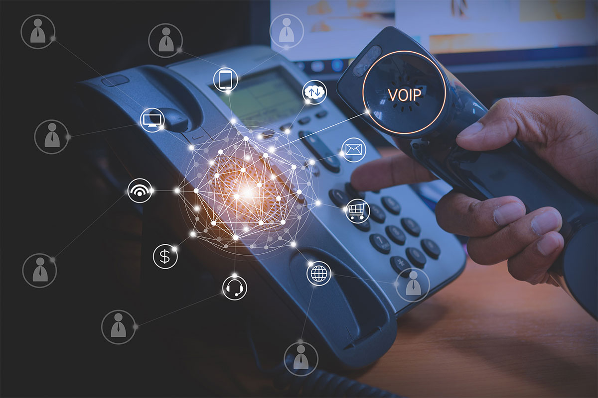 a picture of a business phone system