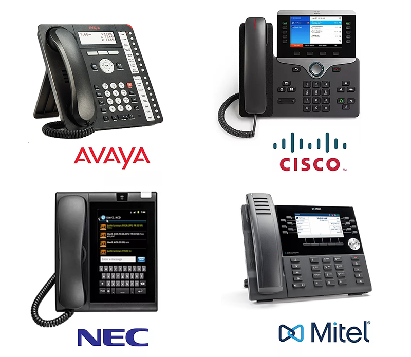 On-site premise hybrid phone systems service provders