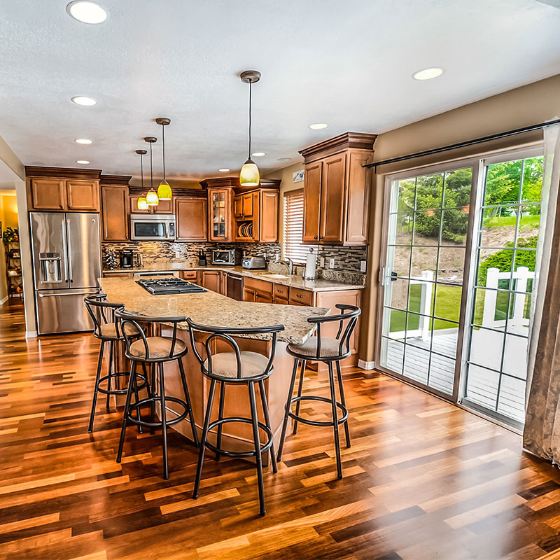 A picture of a home that a realtor just sold using intellicom phone solutions